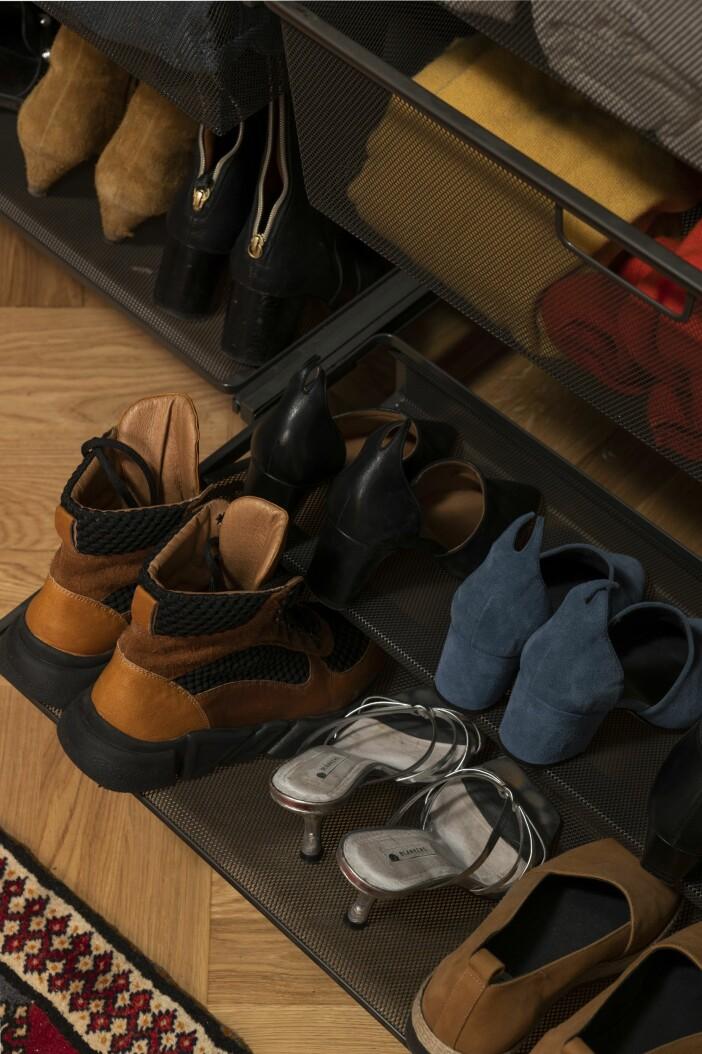 Garderob förvaring Elfa skor Cecilia Blankens