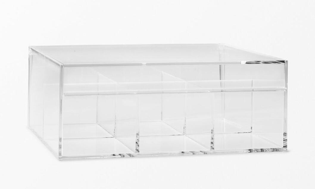 förvaringsask i akryl till badrummet