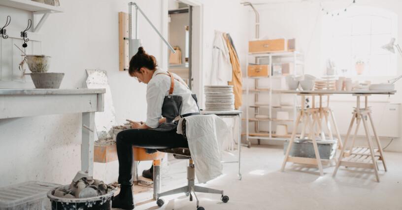 Keramikern Maria Kaungs