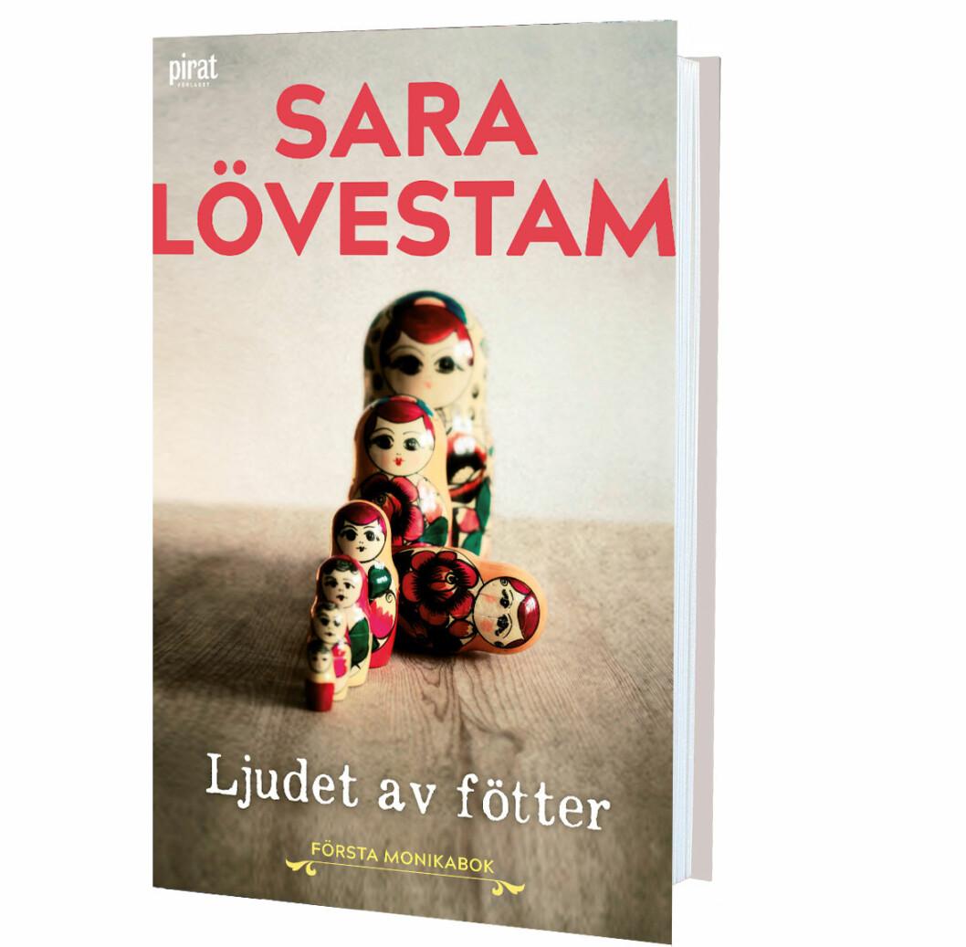 Ljudet av fötter, Sara Lövestam (Piratförlaget)