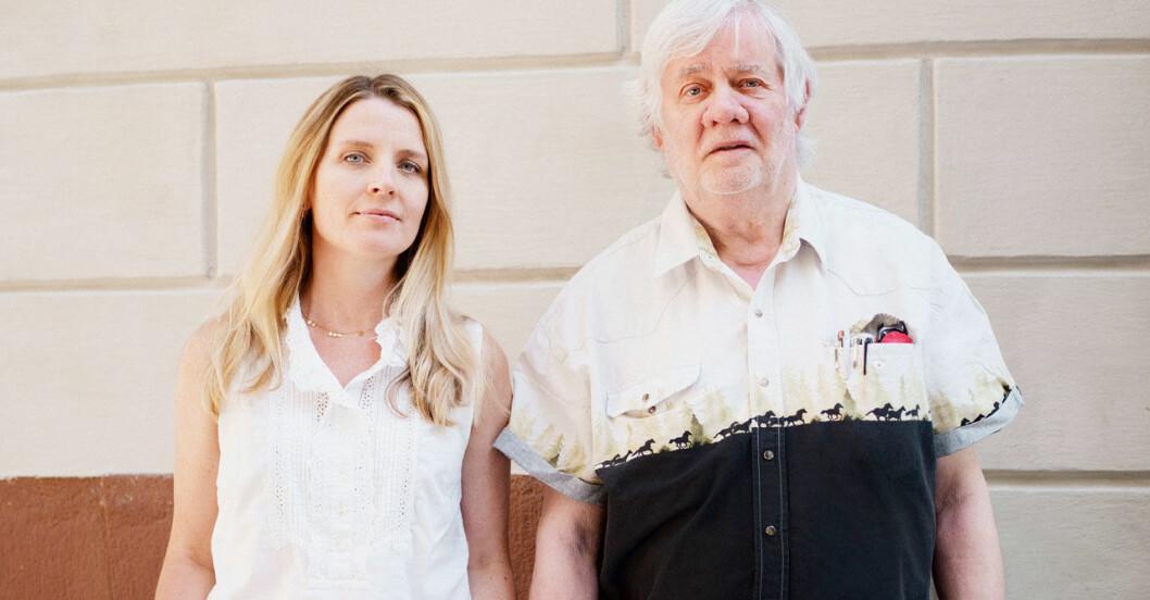 Johanna Frändén och Carl Johan De Geer har skrivit boken Att segra är banalt tillsammans.
