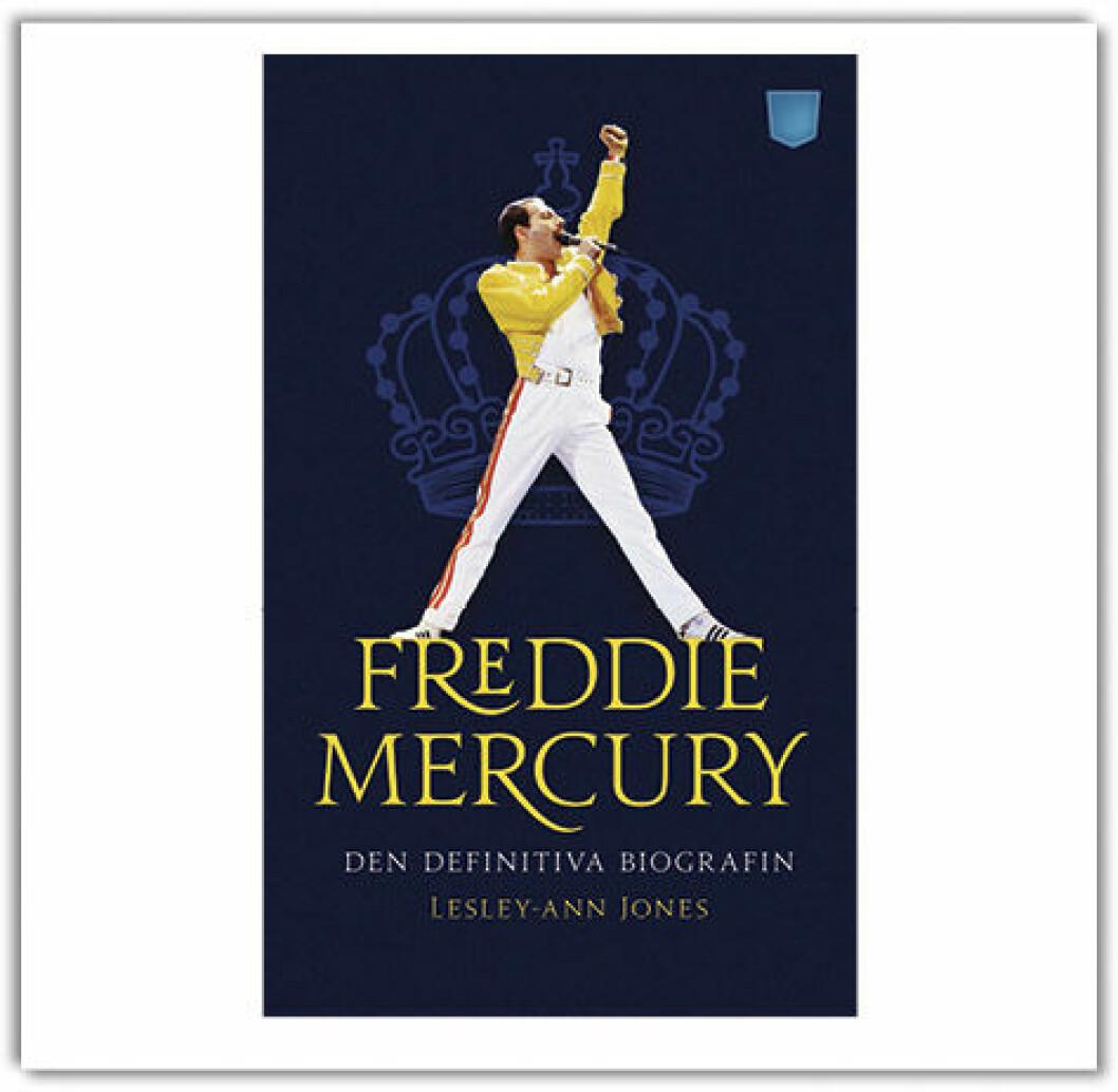 Lesley-Ann Jones mäktiga biografi Freddie Mercury, den definitiva biografin (Pocketförlaget)