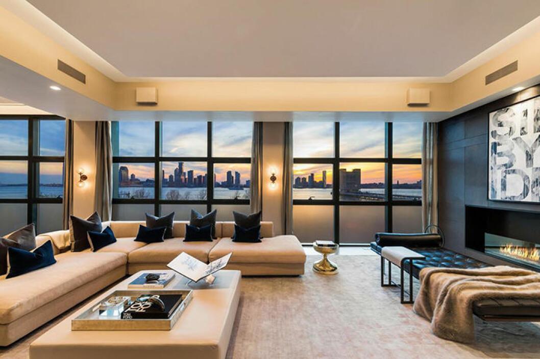 Fredrik Eklund säljer sin lyxlägenhet i New York – med utsikt över Hudson River