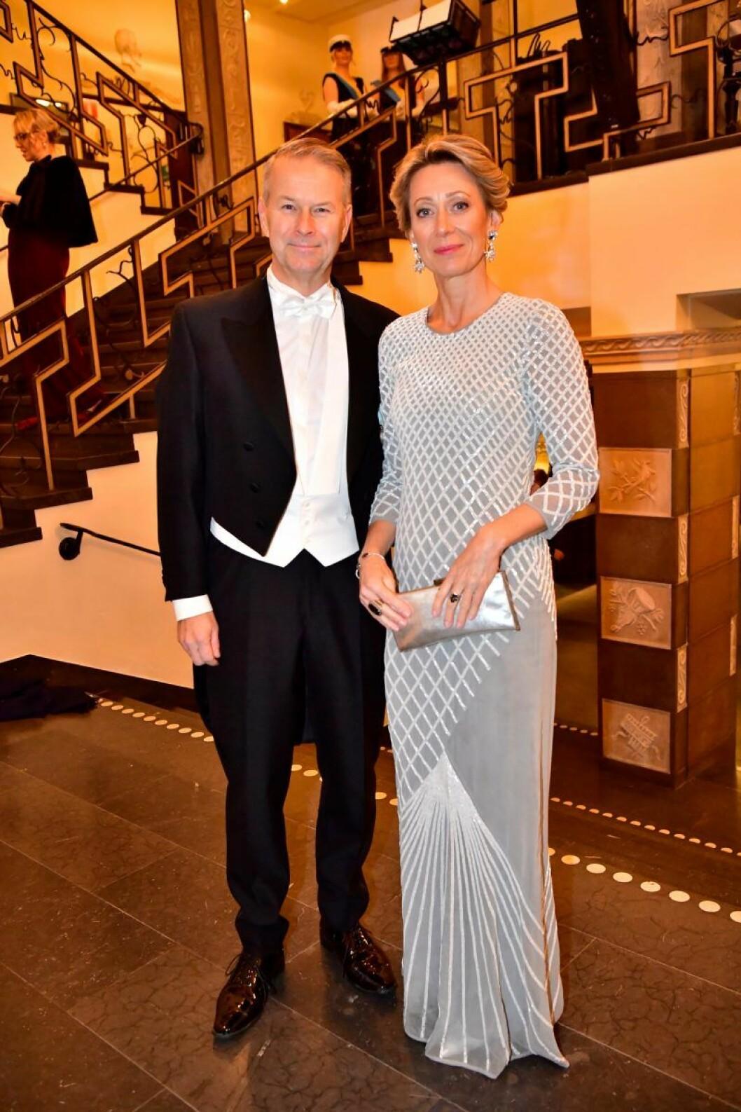 Fredrik Eriksson och Ulrika Hallesius på Nobel 2019