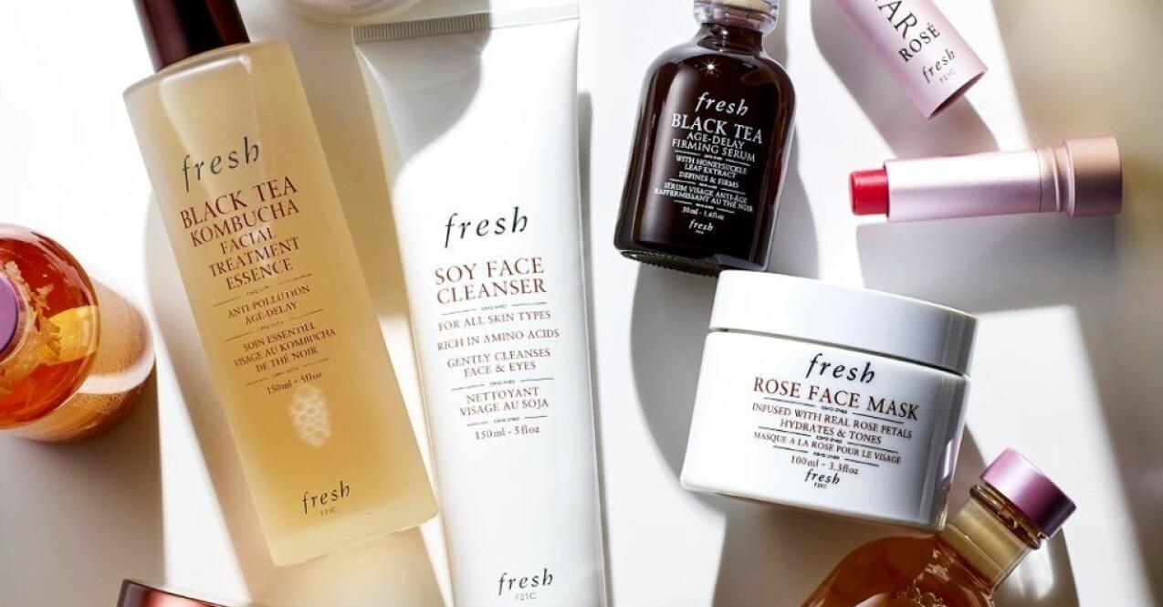 många skönhetsikoner hos amerikanska Fresh