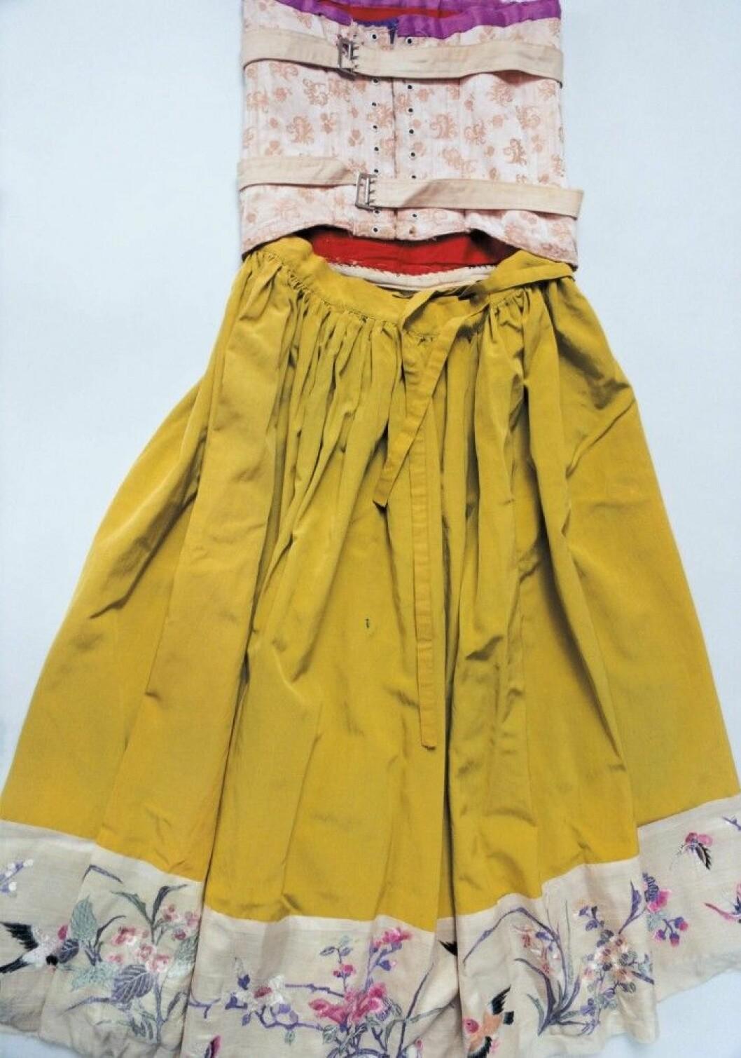 Frida Kahlos klänning.
