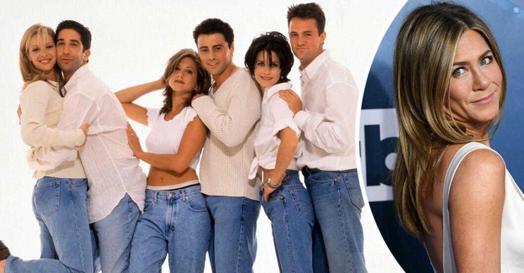 Jennifer Aniston och skådespelarna från Vänner