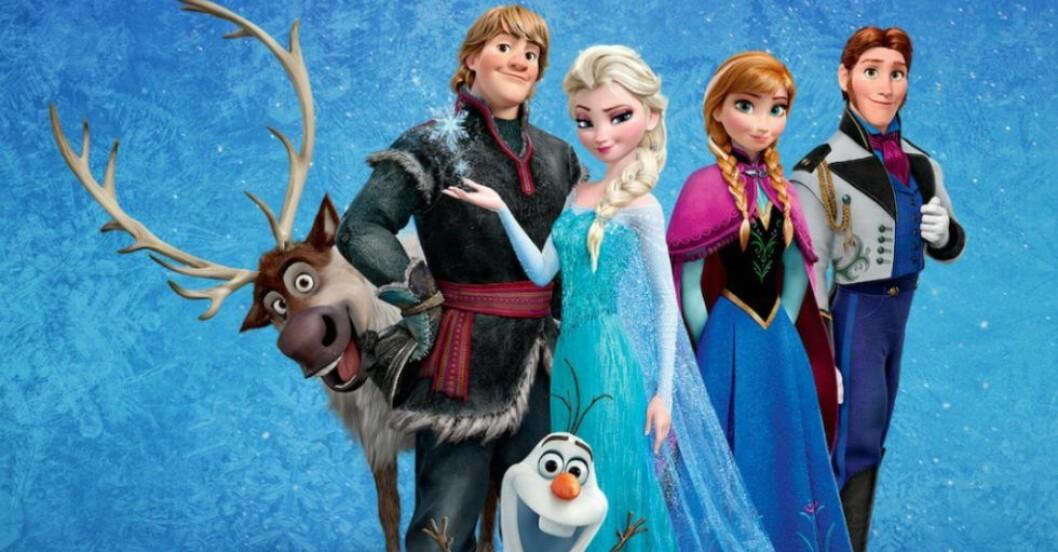 Inspireras av Disney-karaktärer till barnnamnet.
