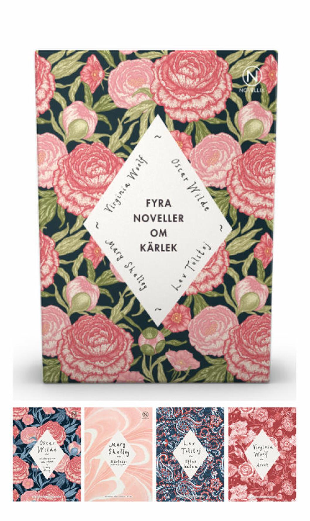 Fyra noveller om kärlek från Novellix.
