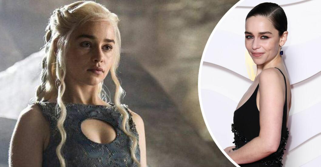 Daenerys Targaryen och Emilia Clarke