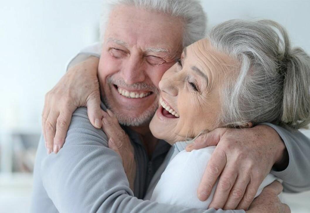 Äldre gladare trots corona