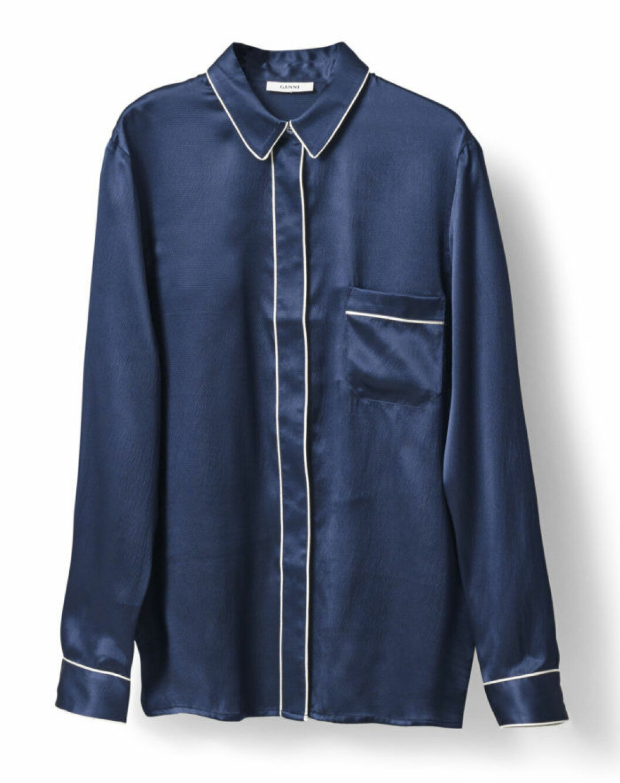 pyjamasskjorta-ganni