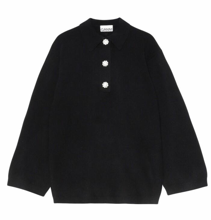 svart ganni tröja