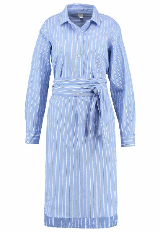 randig-skjortklänning-gap