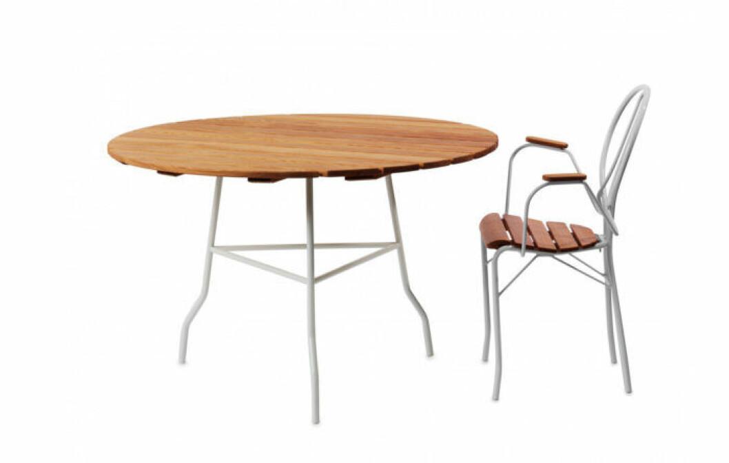 Pia från Gärsnäs är en designklassiker bland utemöbler