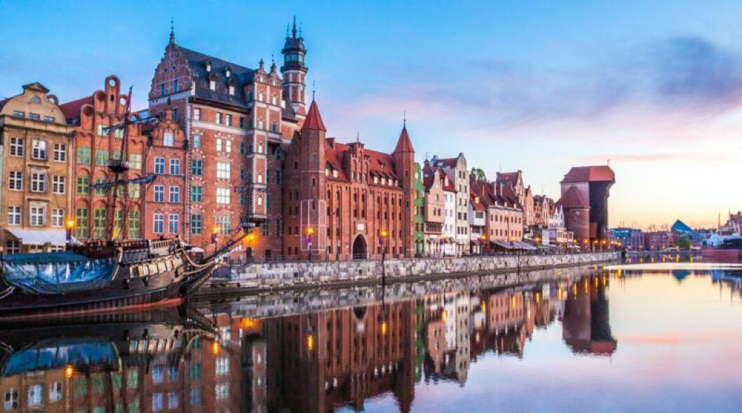 Åk till Gdansk i Polen på smekmånad.