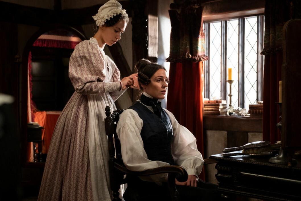 Bild från första säsongen av serien Gentleman Jack på HBO.