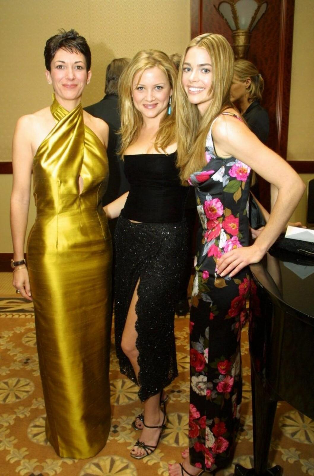 Ghislaine Maxwell, Jessica Capshaw och Denise Richards