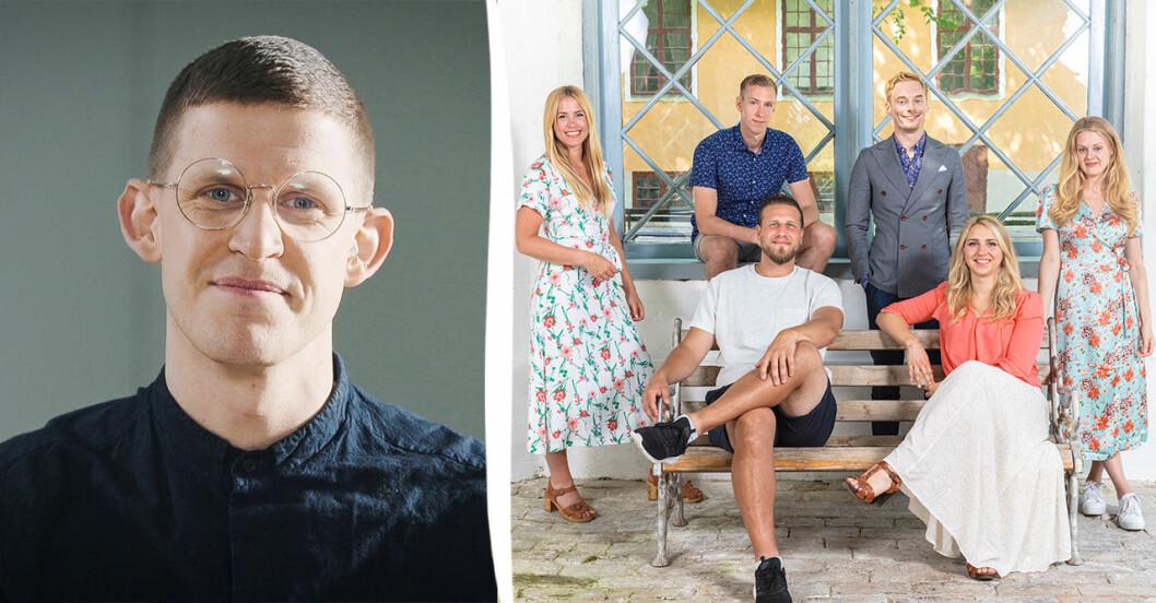 Sexologen Kalle Norwalds ilska efter orden om deltagarna i Gift vid första ögonkastet 2021
