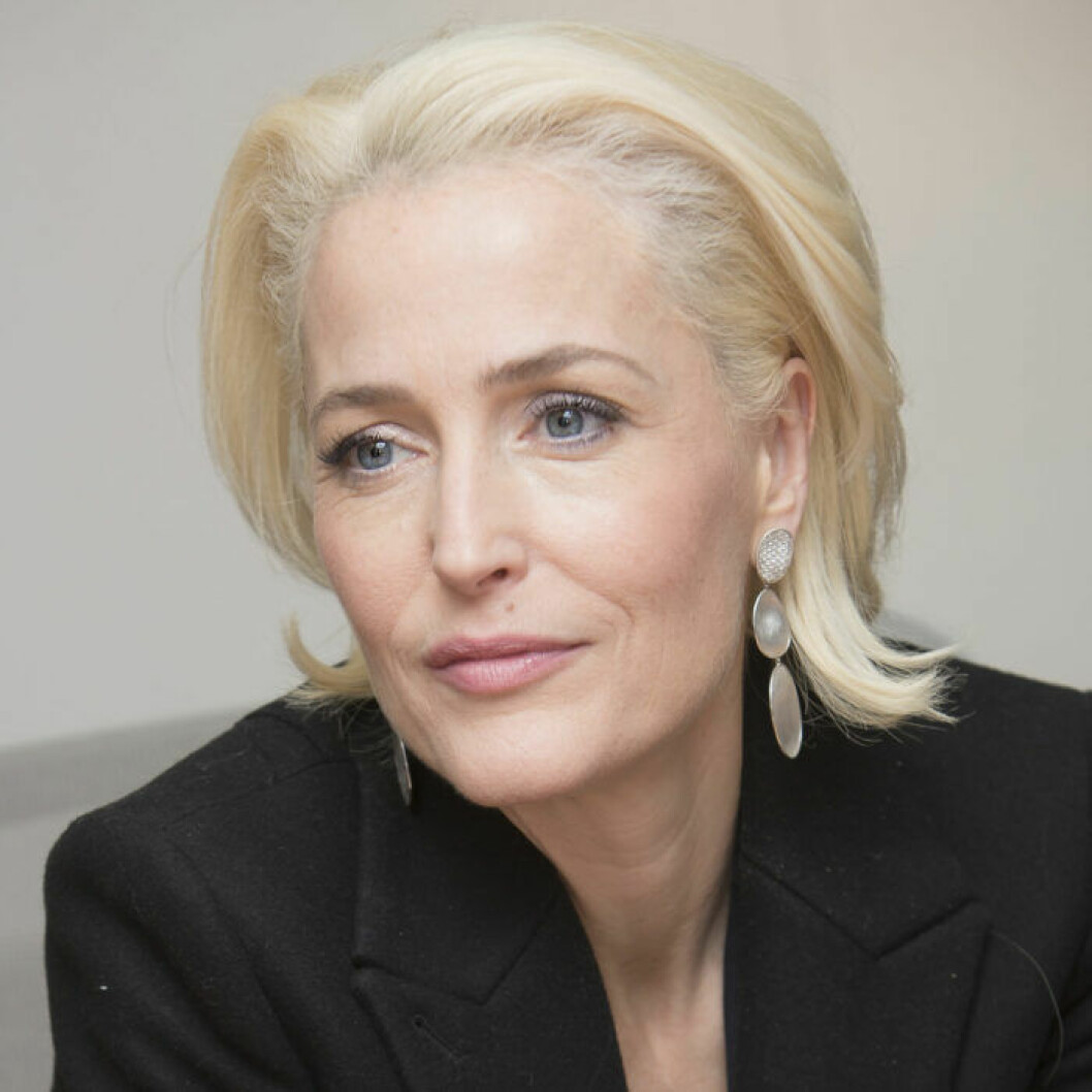 Gillian Anderson i The Crown säsong 4