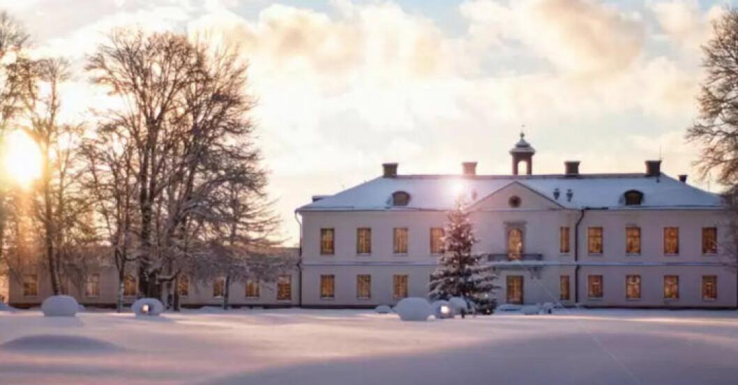 Gimo Herrgård, spa och hotell med romantisk stämning