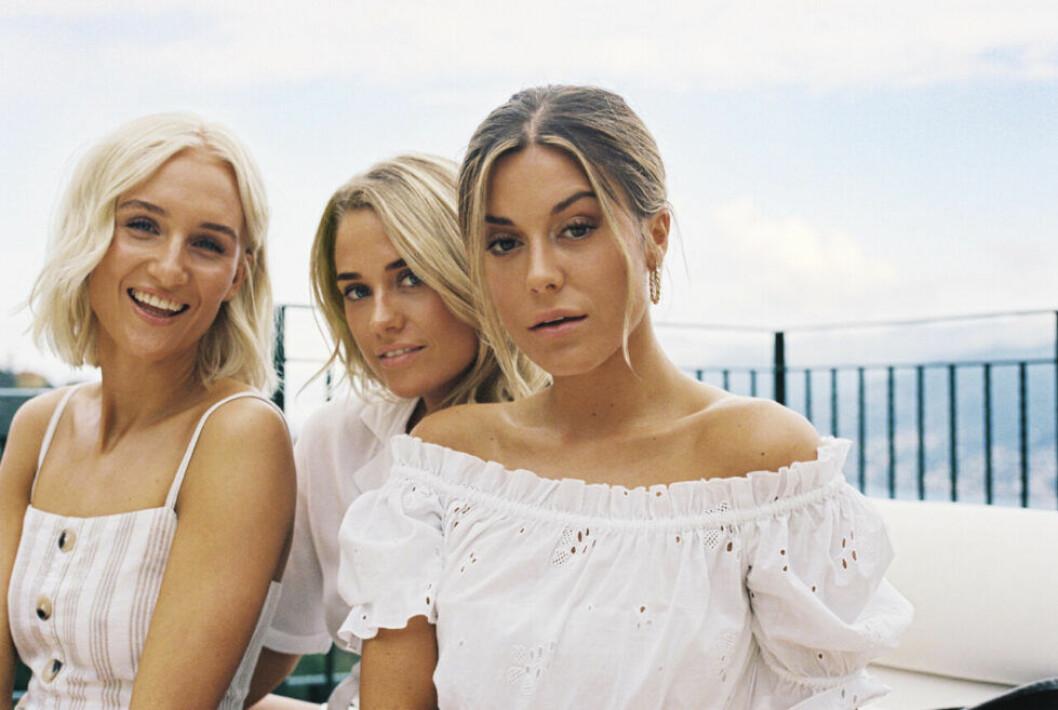 Bianca Ingrosso, Josefine Caarle, Lovisa Worge för Gina tricot