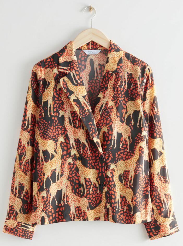 mönstrad skjorta jenny strömstedt nyhetsmorgon