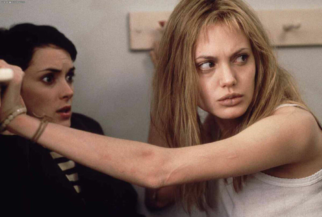 Angelina Jolie i Girl, Interrupted.