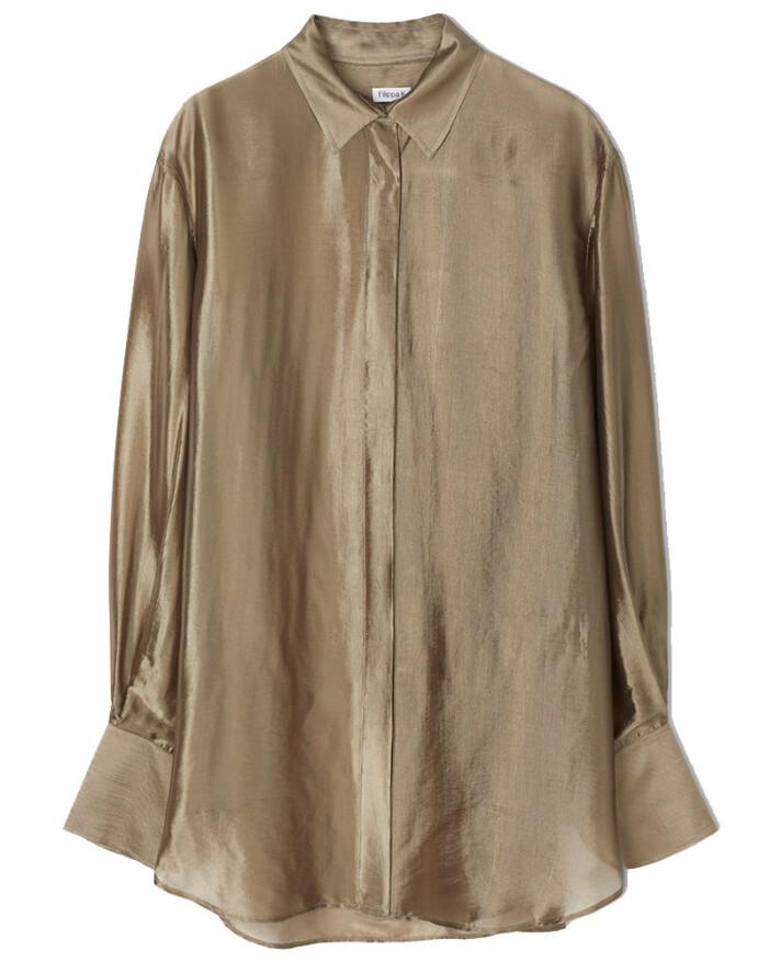 glansig skjorta filippa k