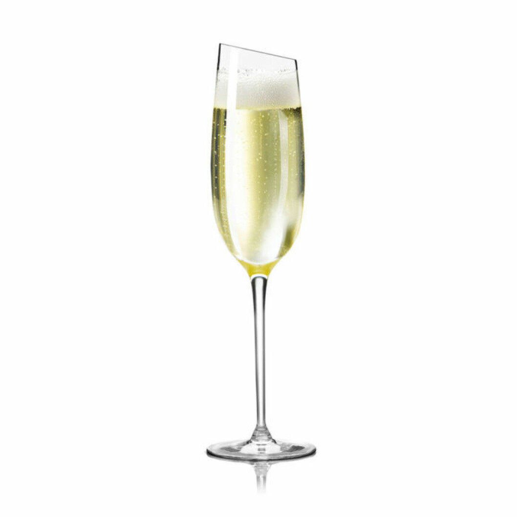 Glas till champagne