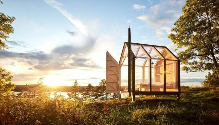 glashus i naturen