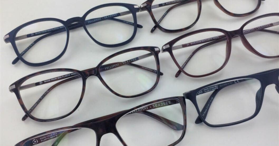 Glasögon av återvunnen havsplast, från Synsam