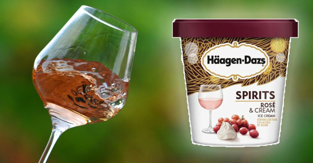 Häagen-Dazs Rosé & Cream