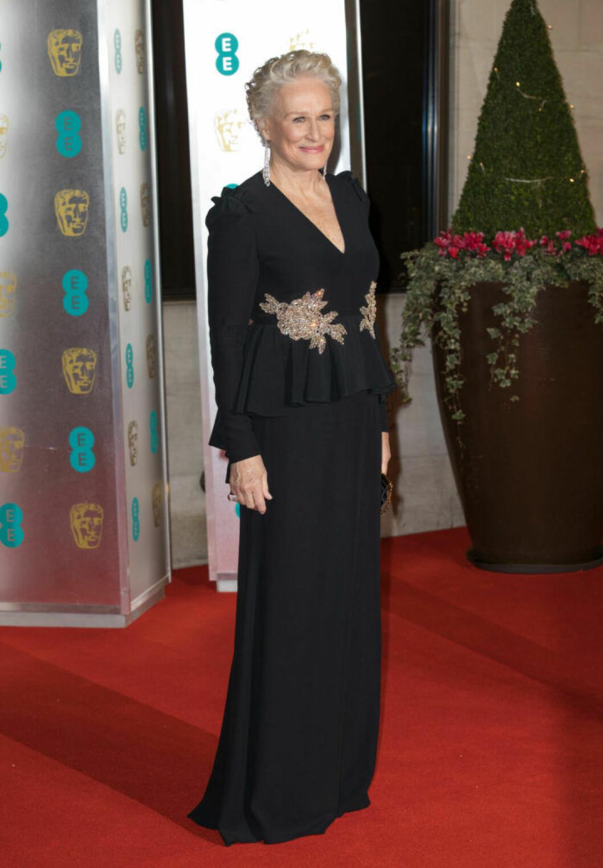 Glenn Close på BAFTA 2019