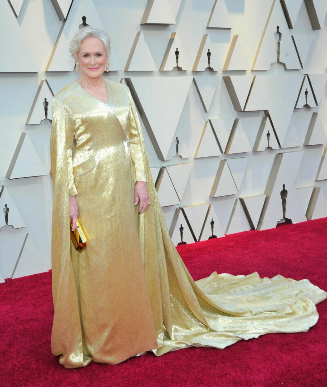 Glenn Close på Oscarsgalan 2019