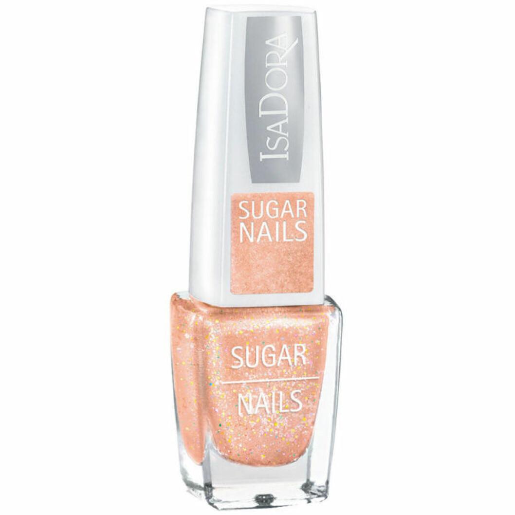 Isadora persikofärgat nagellack