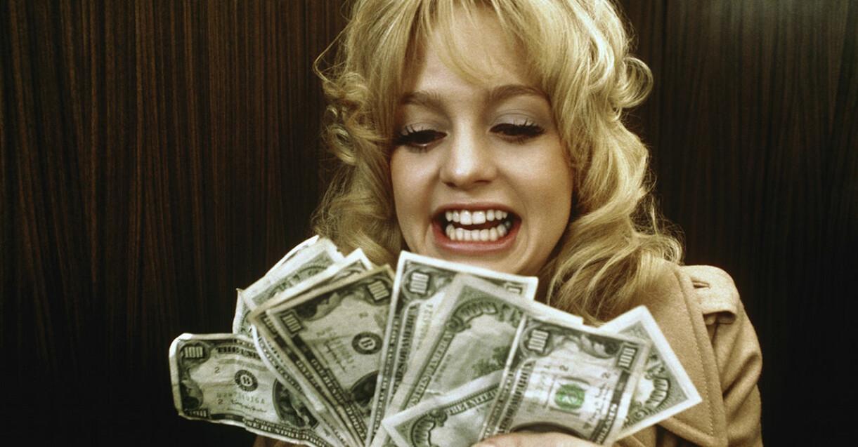 """Goldie Hawn i filmen """"Den perfekta stöten"""" från 1971."""