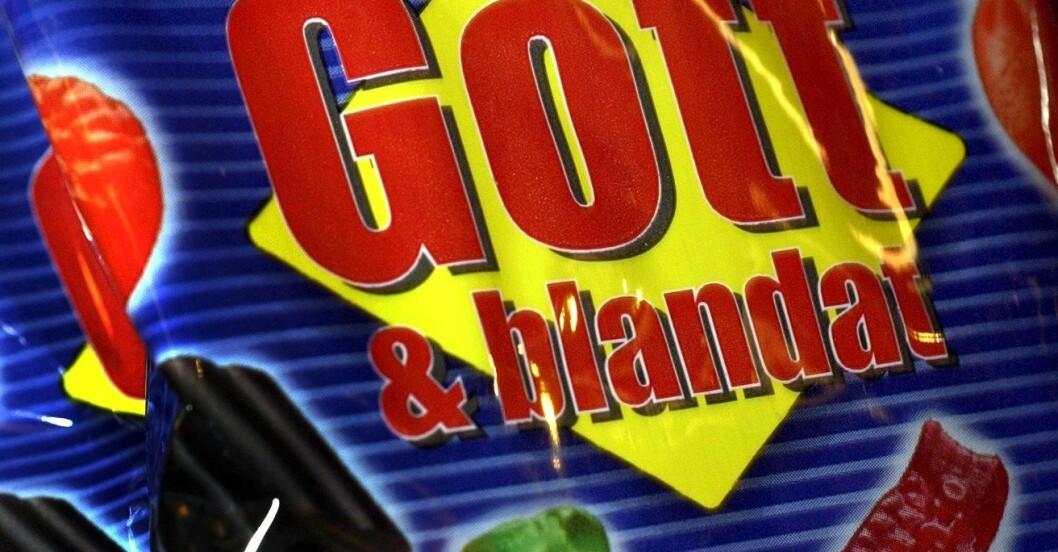 En påse med Gott och blandat.