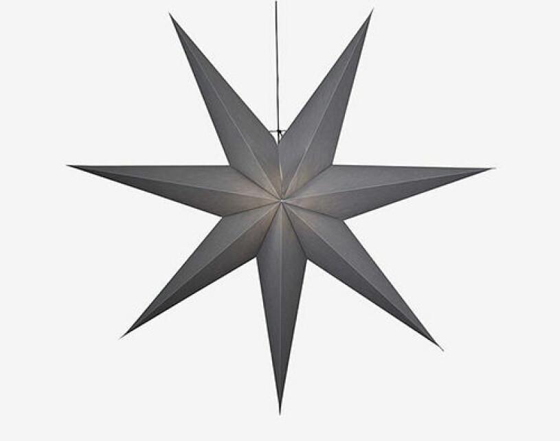 Grå julstjärna från Star Trading
