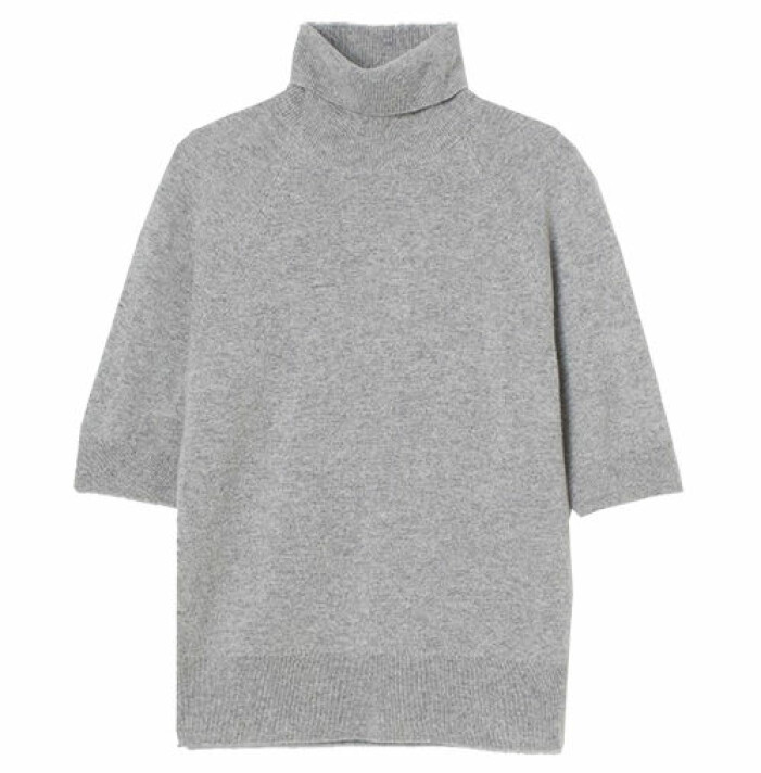 grå polotröja hm