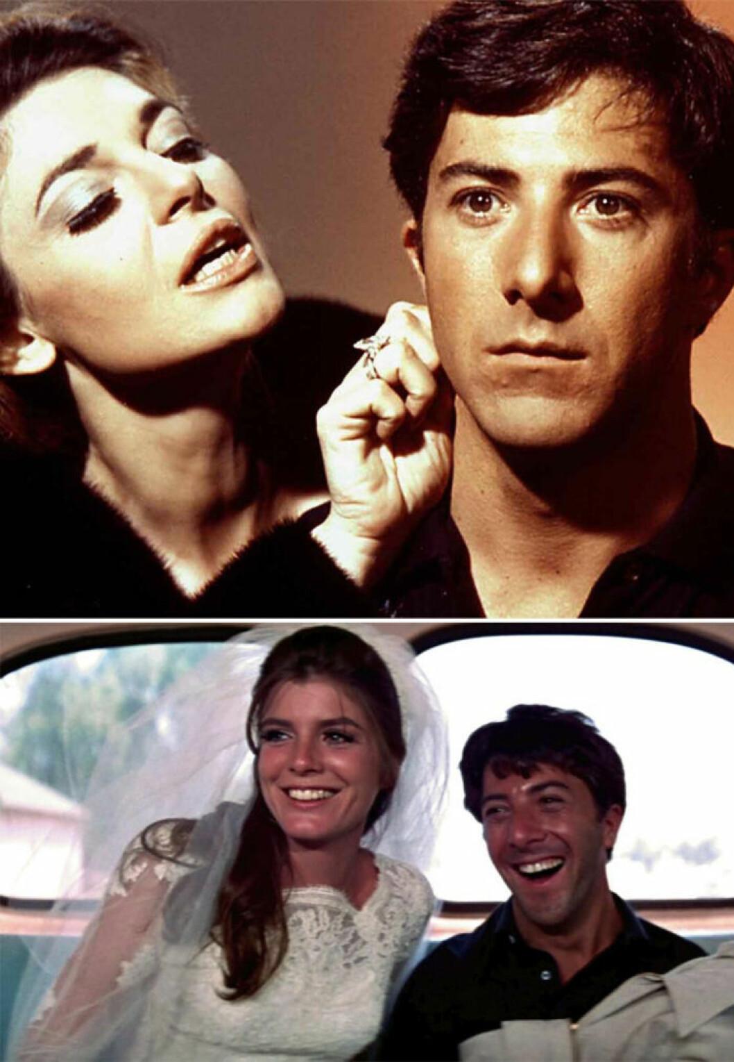 Dustin Hoffman i The Graduate