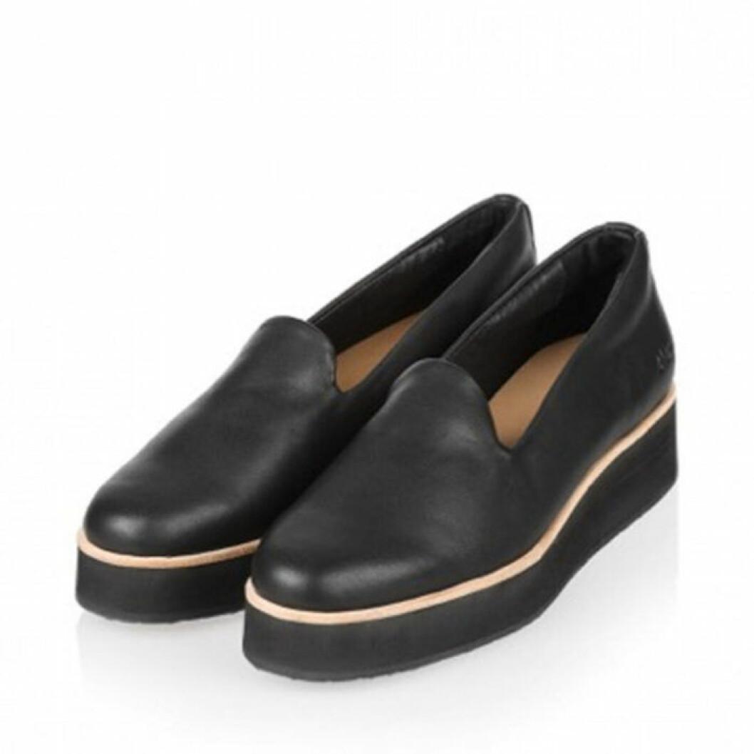Svarta Loafers från gram