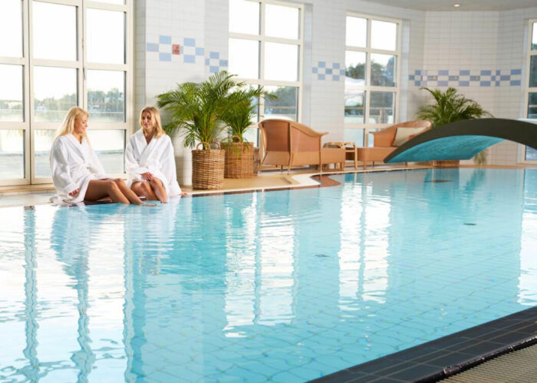 En bild från Grand Hotel Saltsjöbaden i Stockholm där du kan boka spapaket via Live It.