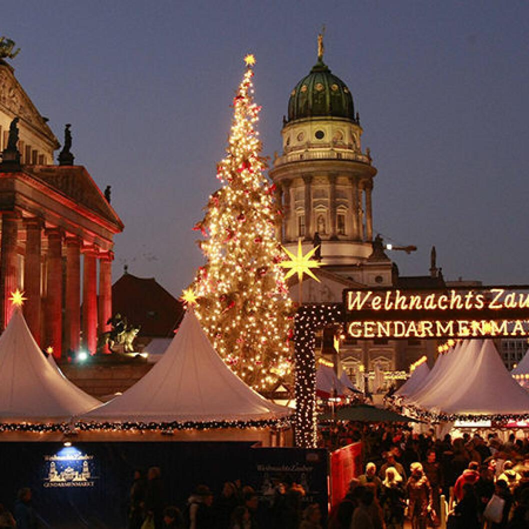 Ljusa detaljer hos Granit i jul