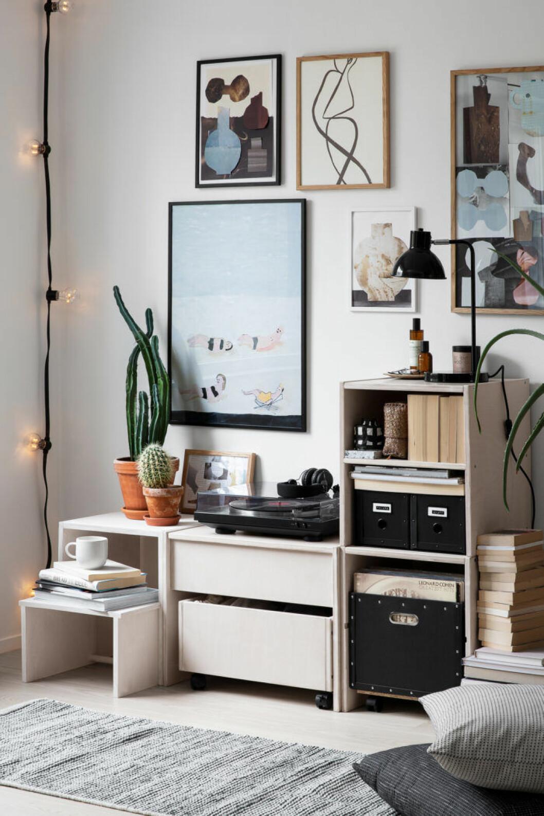 Granits första egna möbelserie med moduler som kan kombineras efter behov