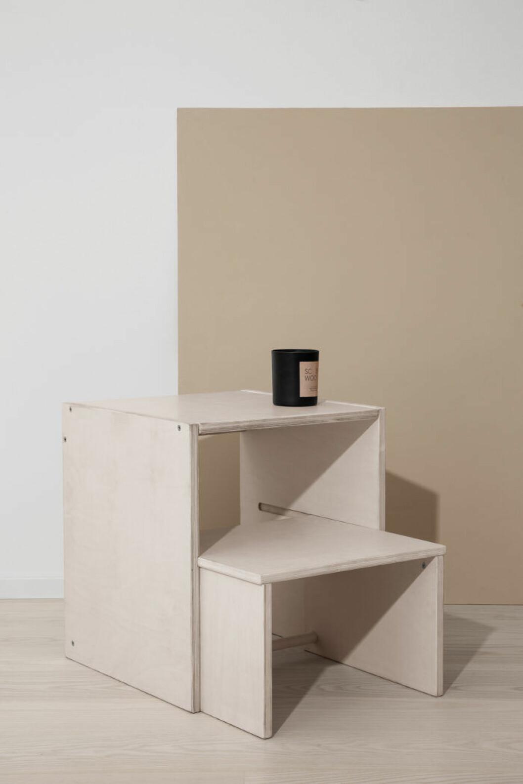 Granit lanserar en boxmodul med trappsteg i sin första egna möbelserie 2019