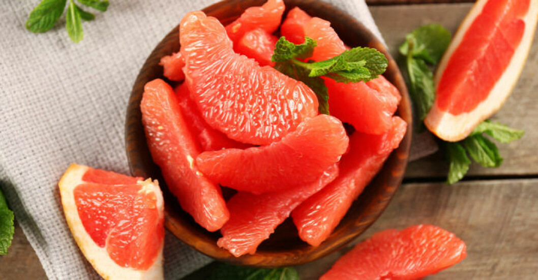 Grapefrukt kan vara bra för huden