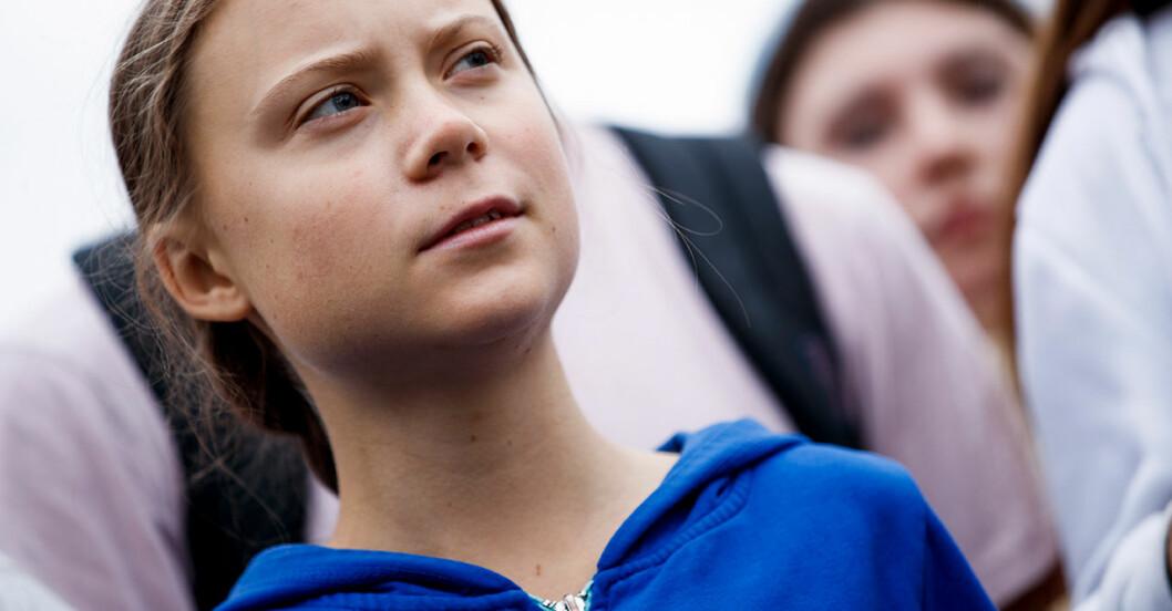 Greta Thunberg och klimatrörelsen Fridays for Future utmärkelsen Amnestys Ambassador of Conscience