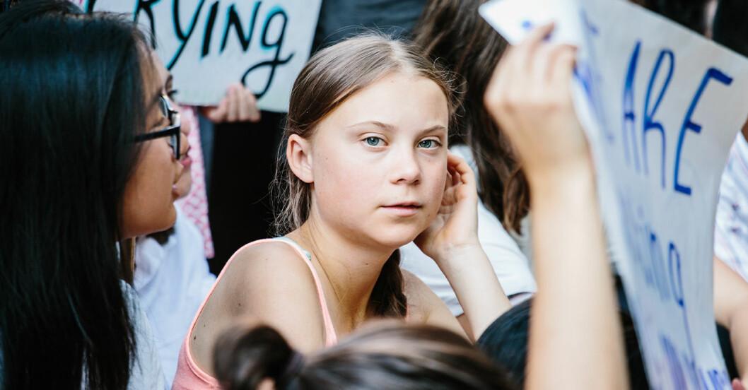 Greta Thunbergs strejk fortsätter inför toppmötet