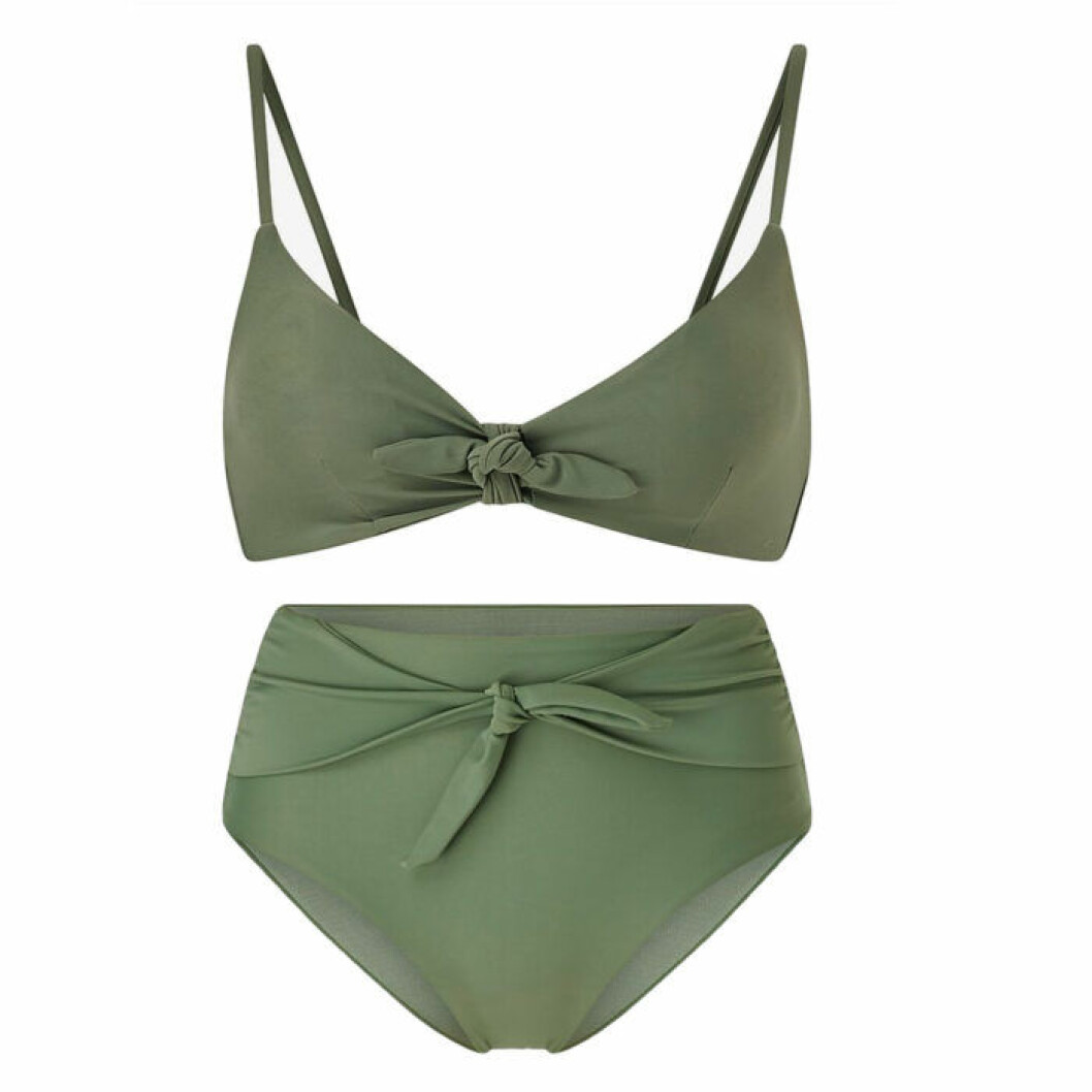 Grön bikini från Therese Alshammar x Ellos